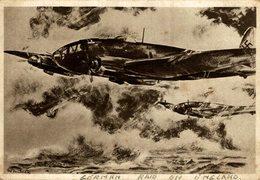 DEUTSCHE KAMPFFLUGZEUGE STARTEN GEGEN ENGLAND SOLDATEN DEUTSCHES TERCER REICH NAZI - Weltkrieg 1939-45