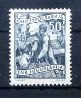 1953 STT VUJNA N.81 * - Mint/hinged