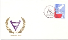 PERU'  INVALID 1982 FDC    (NOV180137) - Handicap