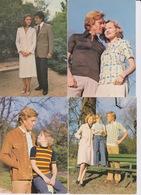 Lot De 4 CPSM - Mode époque 1980 - Couple Homme Et Femme Enfant - Mode Vie Moderne - GRIFFE SOLFIN VENTE A DOMICILE - Fashion