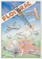 FLOIRAC 19 EME SALON DE LA CARTE POSTALE L AVIATION EN GIRONDE ILLUSTRATION VEYRI - France