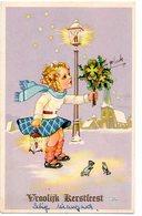 Kerstmis Noel Christmas Weihnachten Vroolijk Kerstfeest Meisje Geluk Fille Girl Mädchen - Weihnachten