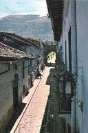 1 AK Ecuador * The Ronda Street - Beautiful Colonial Art In Der Hauptstadt Quito * - Ecuador