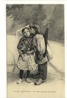 Carte Postale Ancienne Fantaisie En Limousin - Fai Vite Ten Qué N'io Dégu - Enfants - France