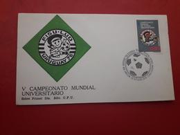 L'Uruguay FDC Un Championnat Mondial De Football Universitaire - Football