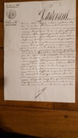 ACTE DE   01/1860  TESTAMENT ACTE NOTARIE PLEAUX DANS LE CANTAL  HERITIERE JUSTINE BIARD - Documents Historiques