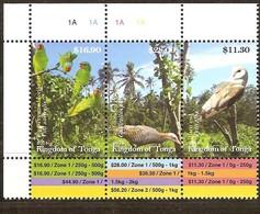 Tonga 2014 Yvertn° 1437-1439 *** MNH Cote 100 Euro Faune Oiseaux Vogels Birds - Tonga (1970-...)