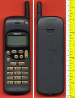 B-12109 NOKIA BBT-3s 1990s. Collectible Cellular Phone (used) With Panafon-card. - Telephony