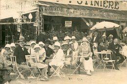 LE POULIGUEN - Carte PHoto Du Café Le Ferdinand's à La Potinière Foule En Terrasse Pub Cointreau Rosé D'Anjou - Le Pouliguen