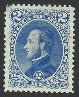 Honduras, 2 R. 1878, Sc # 34, MH. - Honduras