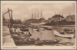 The Harbour, Weymouth, Dorset, C.1930 - Dearden & Wade Postcard - Weymouth