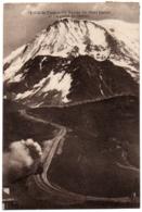CPA 74 - Col De Voza (Haute Savoie) - 14. Rampe Du Mont Lachat (passage Du Train) - France