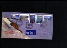 Australian Antarctic Territoriy 1985 Antarctic Scenes FDC - Australian Antarctic Territory (AAT)