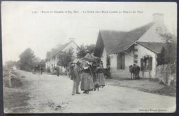CPA 29 BEG MEIL - La Halte Chez Marie Louise Au Moulin Du Pont - Gros Plan - Villard 5395 - Réf. S 95 - Beg Meil
