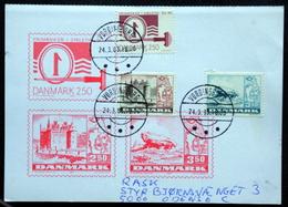 Denmark 1983 NORDEN Cz.Slania    MiNr.771,772-73  Barrow / Brouette / Karren FDC CARDS ( Lot  6576 ) - FDC