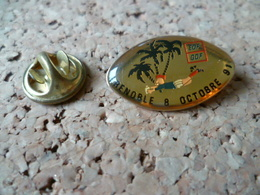 PIN'S    RUGBY  EDF  GDF  GRENOBLE 1991 - Rugby
