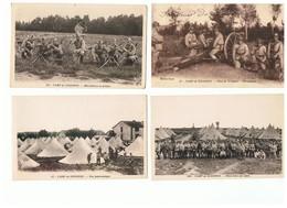 1847-616  14cp  Camp De Sissonne  La Vente Sera Retirée Définitivement Le 8-12 - Sissonne