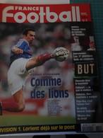 France Football N° 2724 Du 23 Juin 1998 France-danemark Comme Des Lions - Sport