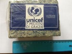 UNICEF - 7 MILIONI DI GRAZIE - Contiene 7.000.000 In Banconote Da L. 10.000 Triturate - Monnaies & Billets