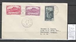 Reunion - Lettre De Saint Denis Pour Portland - Etats Unis - 1936 - Reunion Island (1852-1975)