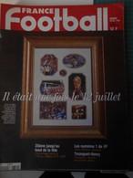 France Football N° 2751 Du 29 Décembre 1998 Il était Une Fois Le 12 Juillet - Sport