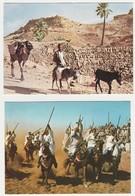 """Lot De 8 Cartes Postales étrangères Ayant Voyagées. Thème : """"Traditions Du Monde"""". 4 Scans. - Postcards"""