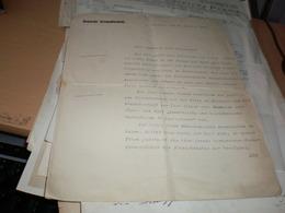 Deutsche Gesandtschaft Beograd Belgrad 1928 Signatures - Documenti Storici