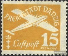 Danzig 299 Con Fold 1938 Airmail - Dantzig