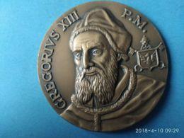 MEDAGLIE PAPALI Gregorio XIII°  Lunario 1962 - Italy