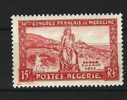 "Algerie YT 326 "" Congrès De Médecine "" 1955 Neuf** - Neufs"