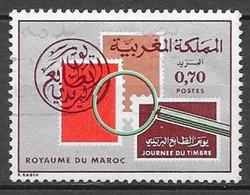 Journée Du Timbre. N°706 Chez Y Et T. (Voir Commentaires) - Marokko (1956-...)