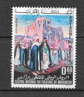Festival National De Folklore De Marrakech : N° 639 Chez YT. (Voir Commentaires) - Marokko (1956-...)