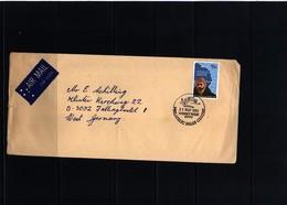 Australian Antarctic Terrritory 2000 Interesting Airmail Letter - Australian Antarctic Territory (AAT)