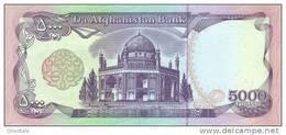 AFGHANISTAN P. 62 5000 A 1993 UNC - Afghanistan