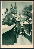 B9560 - Foto Kunstkarte - Stadt Im Schnee - Kupfertiefdruck H. Osterwald Hannover - Künstlerkarten