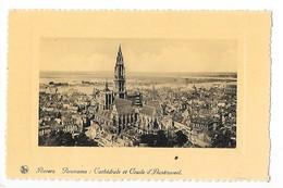 ANVERS - Panorama : Cathédrale Et Coude D'Austruiseel   -  L 1 - Belgique