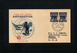 Australian Antarctic Terrritory 1961 Antarctica FDC - FDC