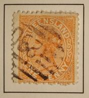 1890 Australie > Queensland  Mi:AU-QU 72 - Queen Victoria - Belle Oblitération - 1860-1909 Queensland