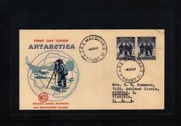 Australian Antarctic Terrritory 1961 Antarctica Macquarie Island Interesting Cover - FDC