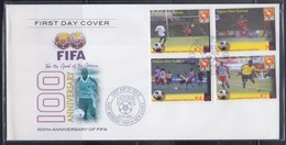 Papua New Guinea 2004 100th Anniversary Of FIFA FDC - Papua New Guinea