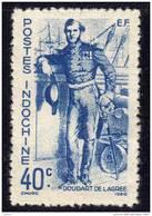 INDOCHINE N° 272 XX Série Des Marins Louis Doudart De Lagrée 40c. Bleu  Dentelure Hahituelle - Unclassified