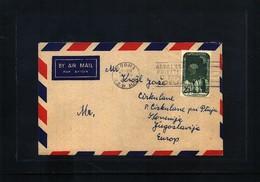 Australian Antarctic Terrritory 1960 Interesting Airmail Cover To Slovenia - FDC