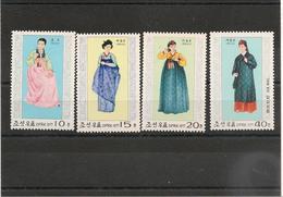 CORÉE DU NORD Costume National Année 1978 N°Y/T : 1458/60** Et P.A. N°2** - Corée Du Nord
