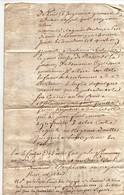 Récapitulatif Des Contrats De Vente, Actions Jugements Concernant Grimault à Partir De 1701 Lemanceau De La Guimbardière - Manuscripten