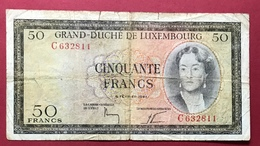 Luxembourg 50 Francs 1961 - Luxembourg