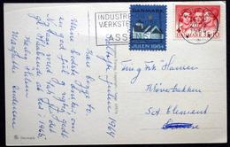 Denmark 1964  Christmas Cards  MiNr.421  TMS Nr.319 INDUSTRI-OG VÆRKSTEDHUES ASSENS  ( Lot 6576) - Dinamarca