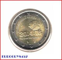 BELGIE - 2 € COM. 2014 UNC - W.O. I - Belgium