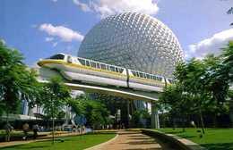 États Unis : Orlando Epcot Center Future World (Disney) - Orlando