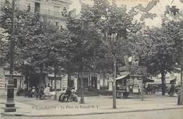 CPA 73 Savoie Aix Les Bains La Place Du Revard N. 1 Kiosque Le Petit Paris Le Matin Figaro New York Herald Costumes - Aix Les Bains