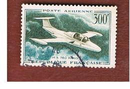 FRANCIA (FRANCE) -   SG 1318  -    1959  AIRPLANE: MS 760 PARIS (300 FR.)- USED - Francia
